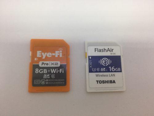 Eye-FiカードとFlashAir